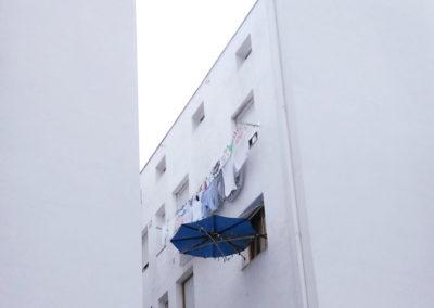 Rehabilitación energética SATE de patios en Nafarroa 3 de Portugalete