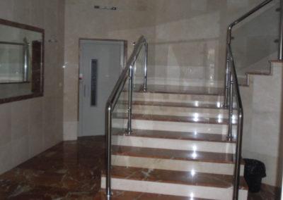 Obras de adecuación de portales para accesibilidad en Bizkaia