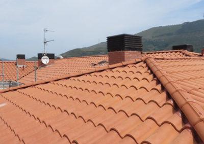 Renovación de cubierta en la calle Víctor Armentia 11, Sanfuentes, Abanto y Zierbena