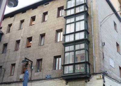 Rehabilitacion energetica de SATE y sustitucion de miradores en fachada Ataranzanas 2 de Portugalete