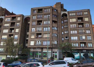 Rehabilitación energética de fachadas y cubierta en Basurto Castrejana 67 de Bilbao