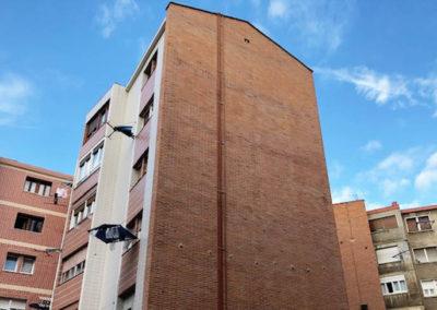 Rehabilitación energética de fachadas en 1 mayo Barakaldo