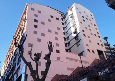 Rehabilitacion energetica de SATE en fachada Julio Gutierrez Lumbreras 6 de Portugalete