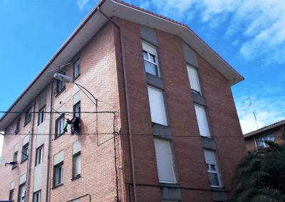 Rehabilitación Energética de fachadas de Errotabarri 5 de Sopela