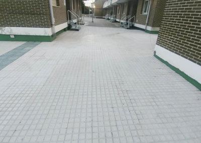 """Impermeabilización y pavimentación en """"residencial Castro-alto general"""", Castro Urdiales"""
