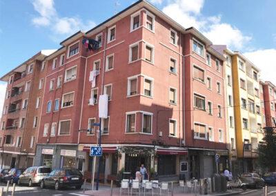 Rehabilitación energética de Fachadas mediante Fachada Ventilada Cerámica en Ortuño de Alango, 10 Portugalete