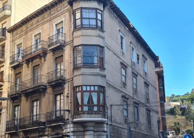 Restauración de fachada La Ronda, 34 Castro Urdiales