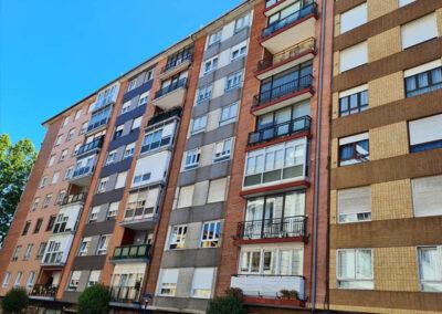 Rehabilitación energética de fachadas en Abaro 30 de Portugalete